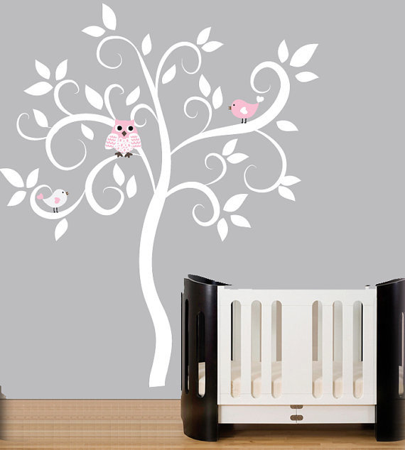 Baby Room Modern Wall Decal Ideas